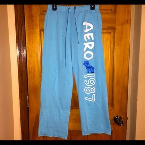 Aeropostale Baby Blue Sweatpants / Lounge pants